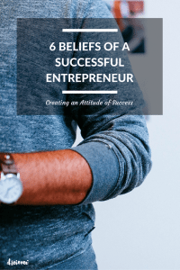 6 beliefs of a successful entrepreneur