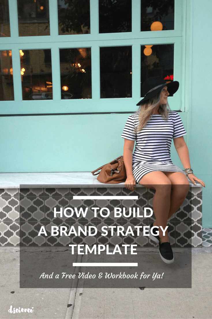 how to build a brand strategy template