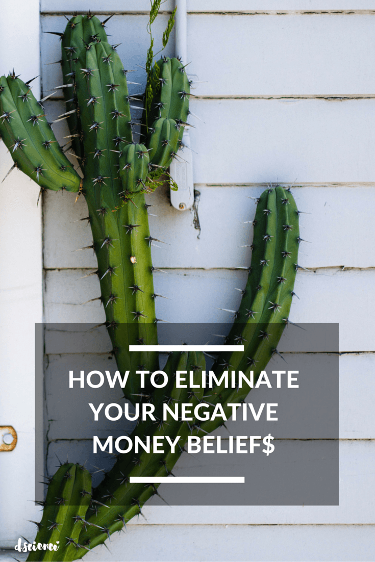 how to eliminate your negative money beliefs