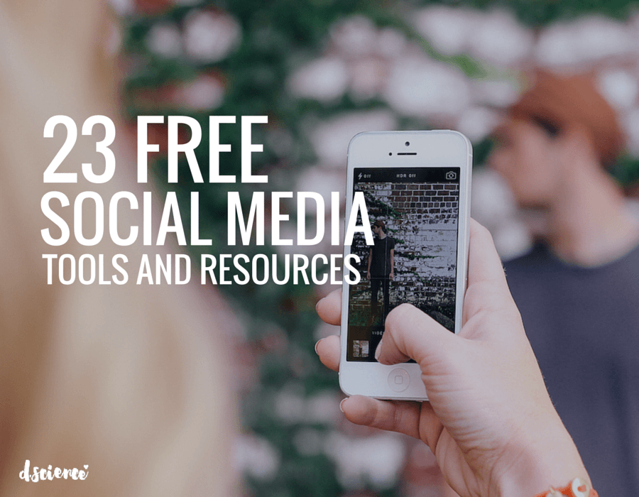 23 free social media resources