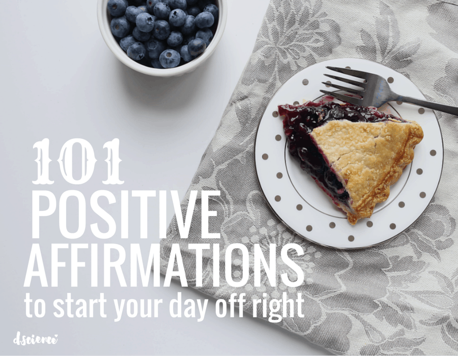 101 positive affirmations