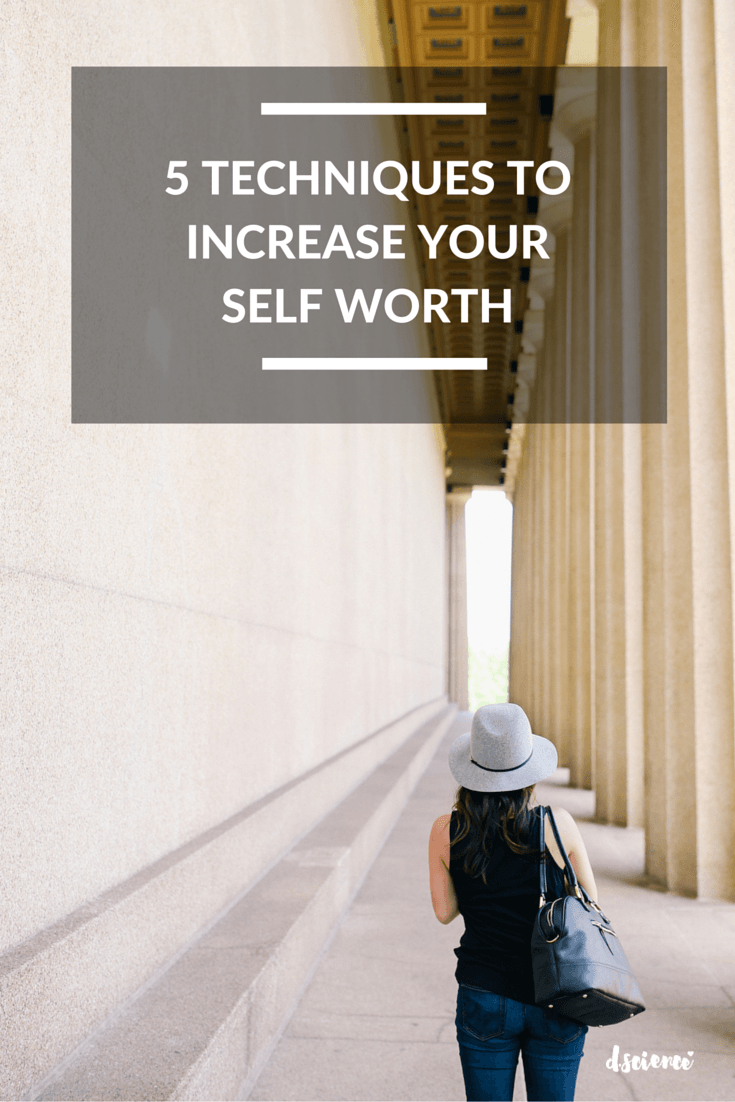 Increase self worth