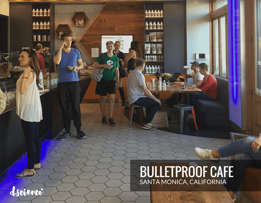 bulletproof cafe in santa monica california