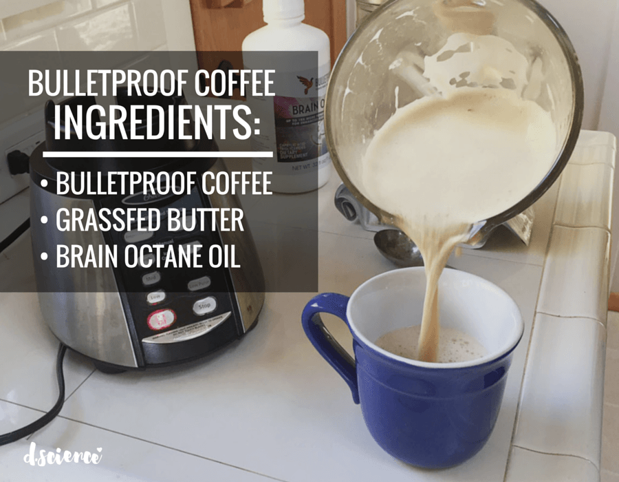 how to make bulletproof butter coffee