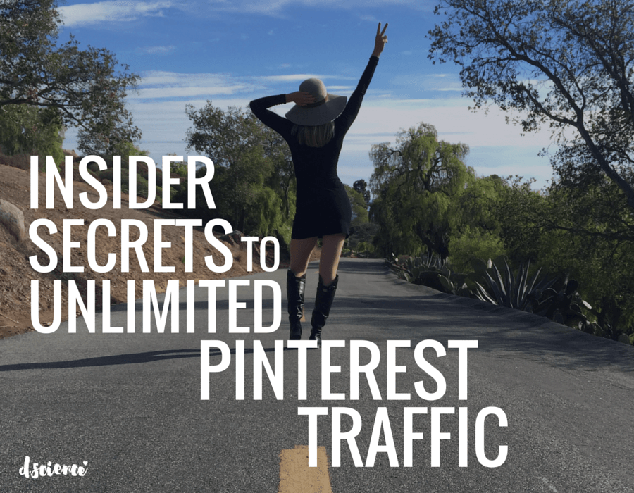 insider secrets to unlimited pinterest traffic