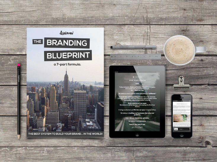 the branding blueprint by d.science