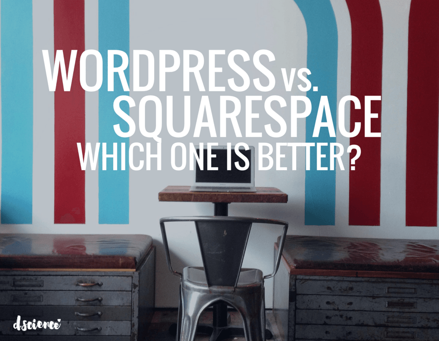 wordpress vs squarespace which one is better