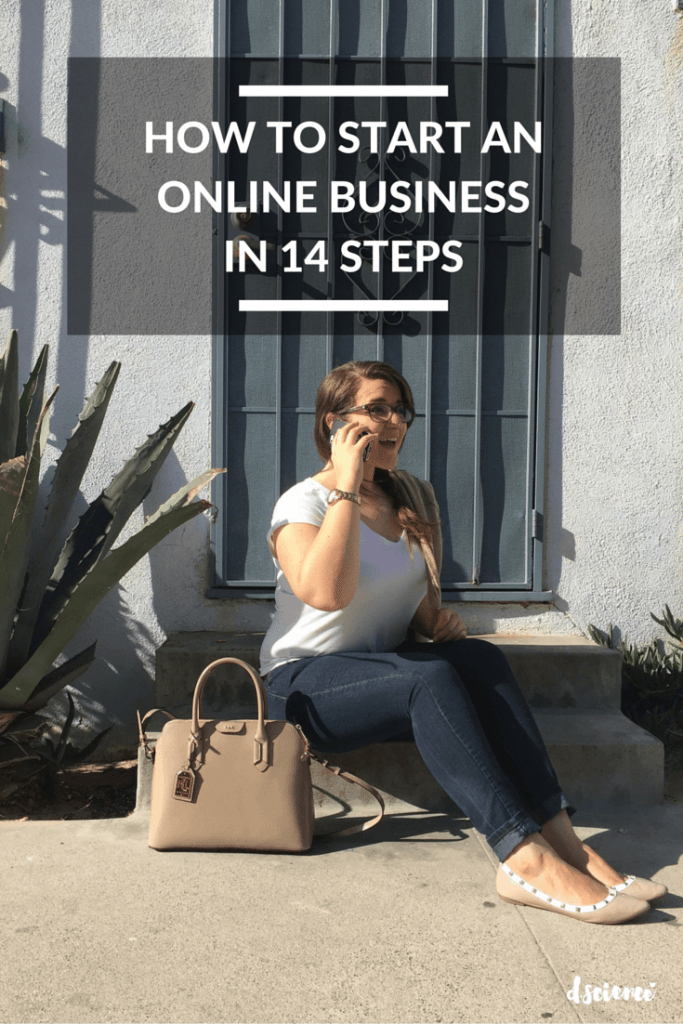 how to start an online business in 14 steps