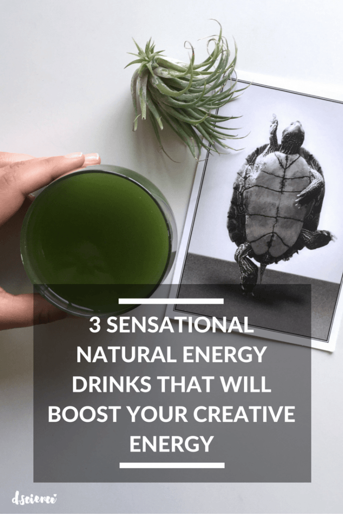 3 sensational natural energy drinks to boost your creative energy