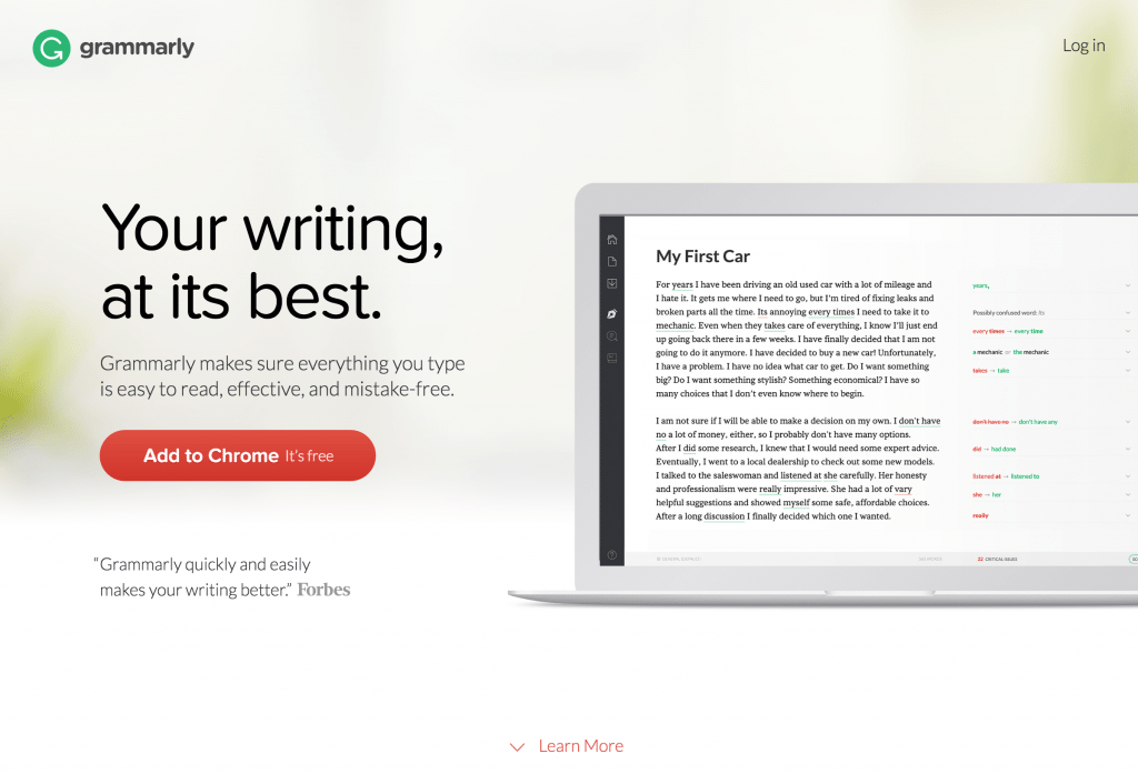 How Grammarly Helped me Land a $70,000 Salary