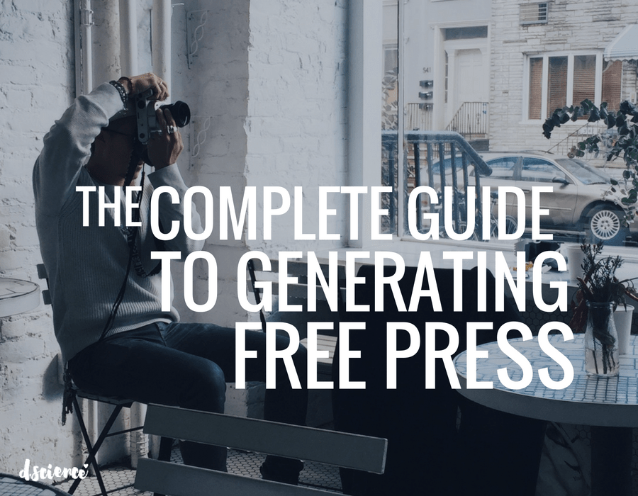 the complete guide to generating free press