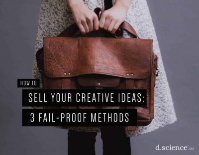 sell your creative ideas